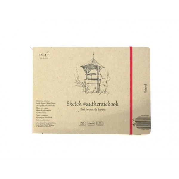 Zīmēšanas bloks Smiltainis - Natural, panorāmas