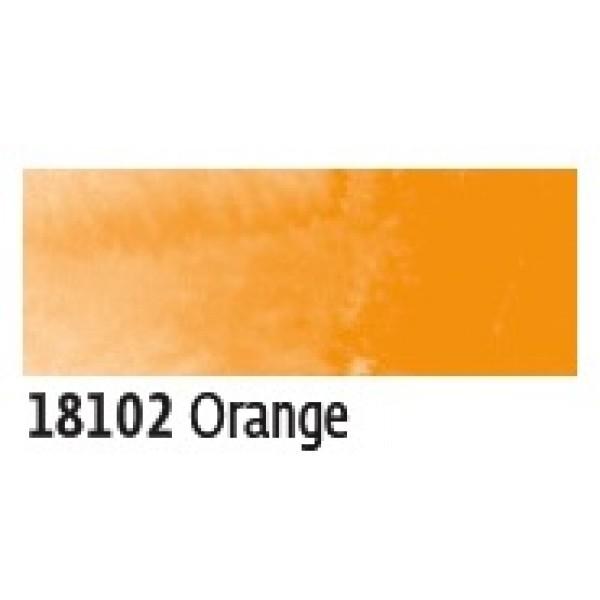 Akvareļu flomāsters AQUA Brush Pen - oranžais