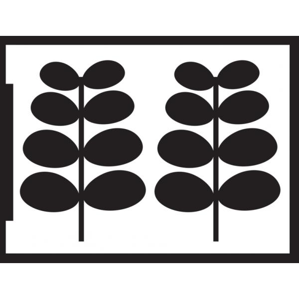 Negatīva efekta stencils A5 - lapas