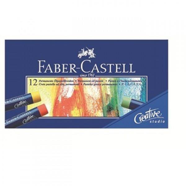 Eļļas pasteļkrītiņi Faber-Castell, 24 krāsas