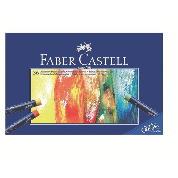 Eļļas pasteļkrītiņi Faber-Castell, 36 krāsas