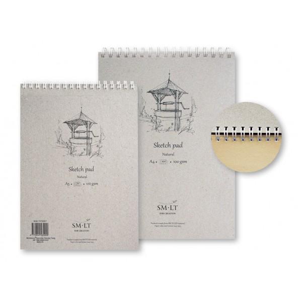 Zīmēšanas bloks Smiltainis - Natural, A4