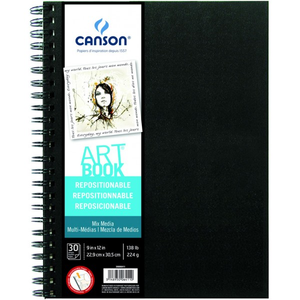 Skiču bloks ART Book - MIX MEDIA, A4