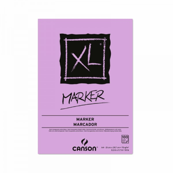 Zīmešanas bloks Canson XL ''Marker'', A4