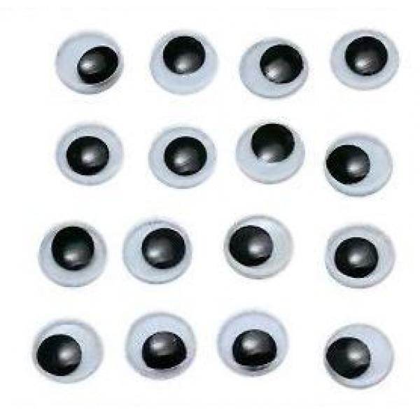 Kustīgās actiņas 100gab, 8mm