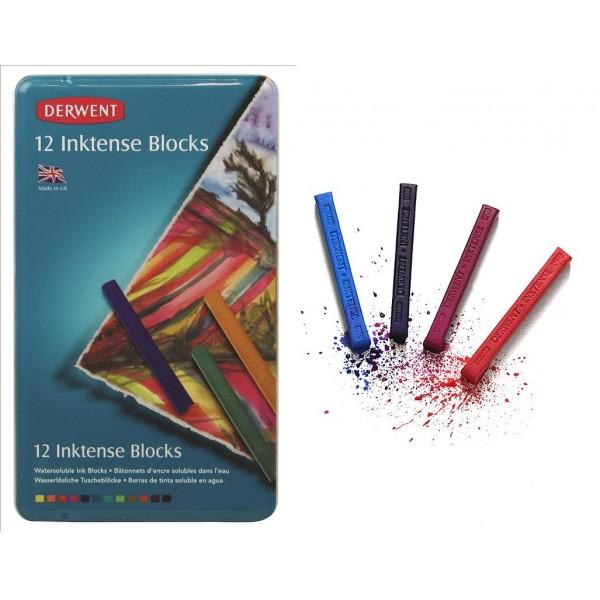 Tintes krītiņi Inktense, 12 krāsas