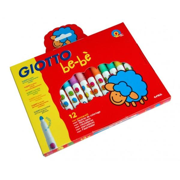 Flomasteri Be-Be 12 krāsas