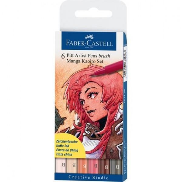 PITT mākslinieku flomāsteri - Manga Kaoiro (siltie toņi)