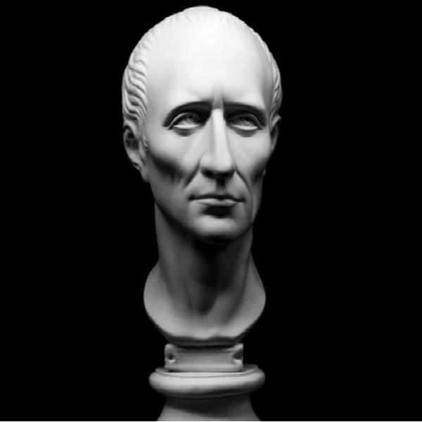 Ģipša galva Cēzars