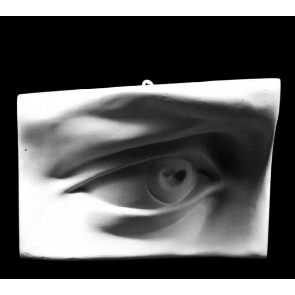 Ģipša figūra Dāvida acs