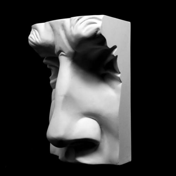 Ģipša figūra Dāvida deguns