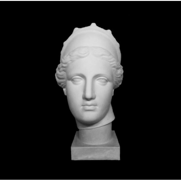 Ģipša galva Venēra ar kroni