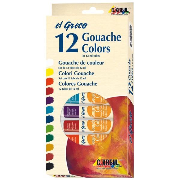 Guaša el Greco 12x12ml