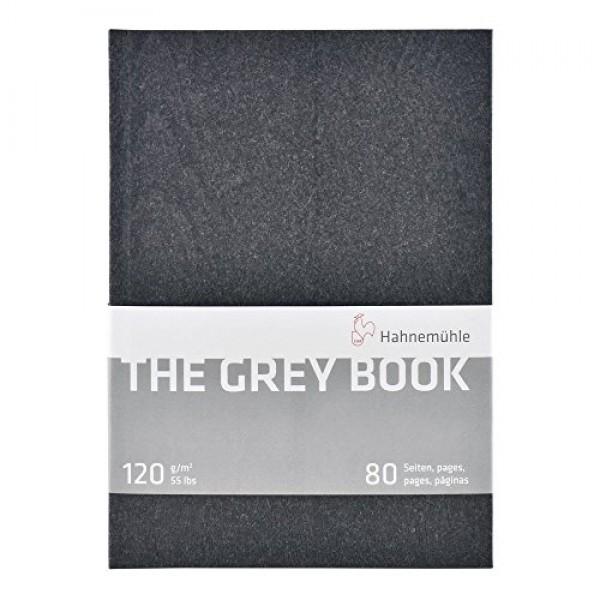 The Grey skiču bloks cietos vākos A4; 120gr 80 lapas