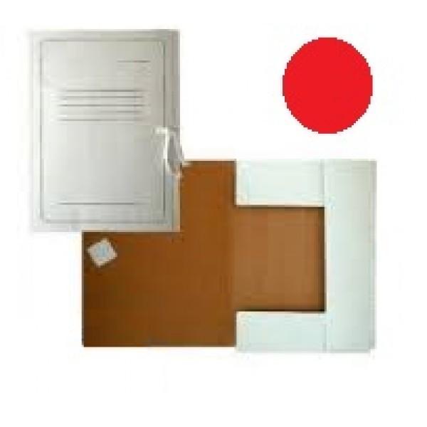 Mape ar lentām SMLT A4 formāta, no  kartona, balta