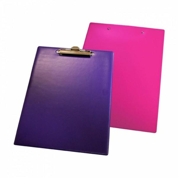 Mape planšete Panta Plast A4 formāts, violets / rozā