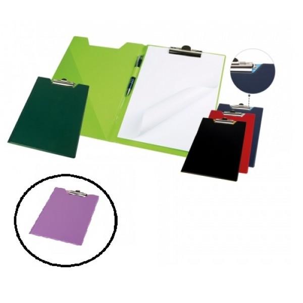 Mape planšete Panta Plast A4 formāts. Violeta / rozā