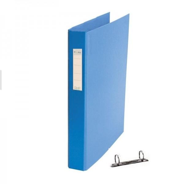 Mape reģistrs ar 2 riņķiem ELLER, A4, platums 35 mm, tumši zila