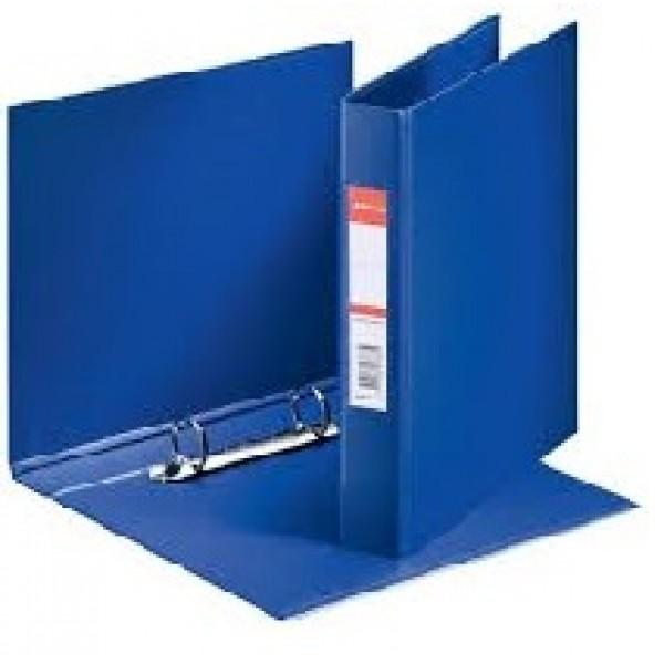 Mape reģistrs Esselte ar 2 riņķiem, A5, muguriņa 35 mm,  zila