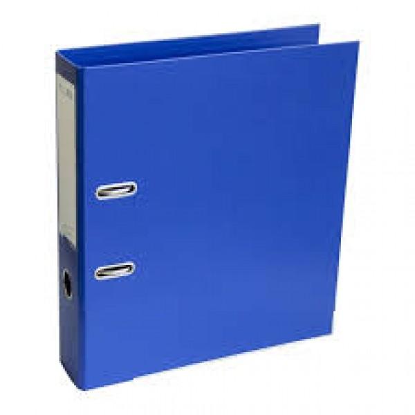 Mape reģistrs ELLER A4 formāts, 75 mm, tumši zils