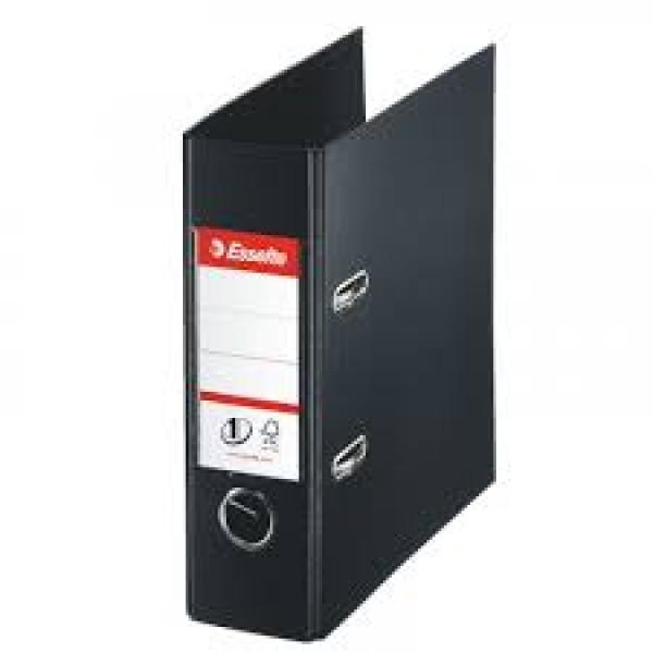 Mape reģistrs ESSELTE VIVIDA No1 Power PP A5 formāts 75mm, melna