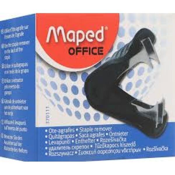 Atskavotājs MAPED, melns