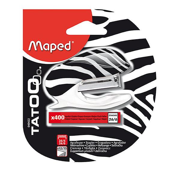 """Skavotājs MAPED """" Tatoo""""№24 + 400 skavas"""