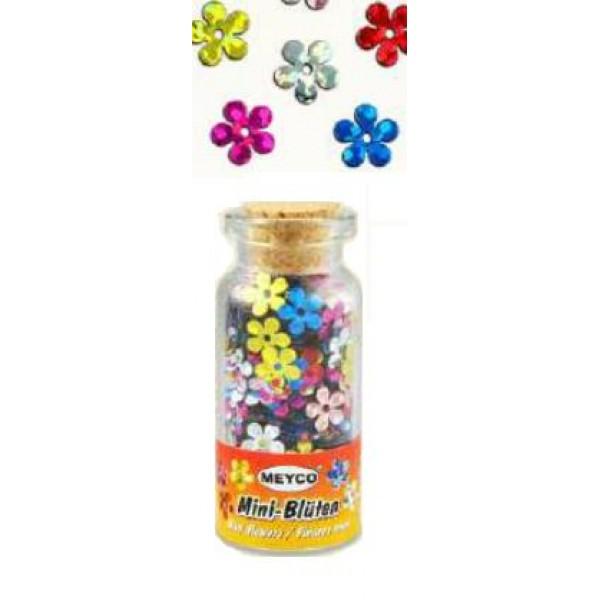 Mini puķītes 10ml, dažādas krāsas