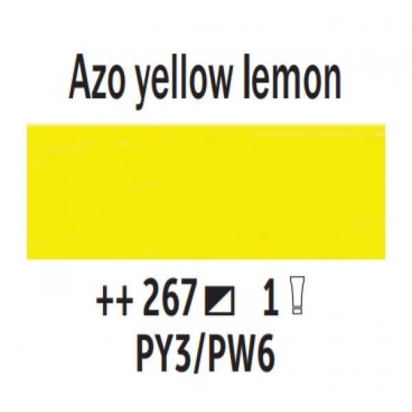 Eļļas krāsa Van Gogh azo citron dzeltens 267; 200 ml