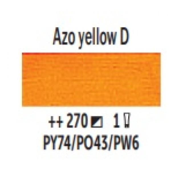 Eļļas krāsa Van Gogh azo dzeltens tumšs 270 ; 200 ml