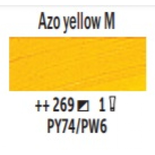 Eļļas krāsa Van Gogh azo dzeltens vidējais 269 ; 200 ml